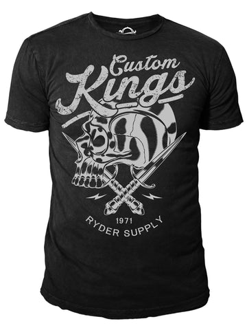 Ryder Supply Clothing - Kings Mens T-shirt (Black)