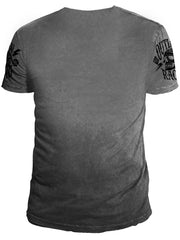 Ryder Supply Clothing - Outlaw Mens T-shirt (Charcoal Grey)