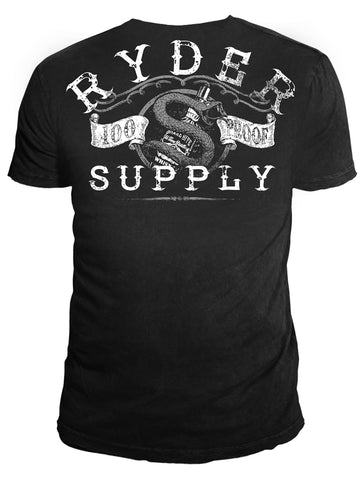 Ryder Supply Clothing - Proof Mens T-shirt (Black)