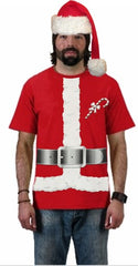 Santa Claus Christmas Costume T-Shirt