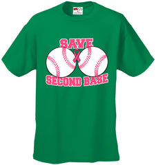 Save Second Base Men's T-Shirt