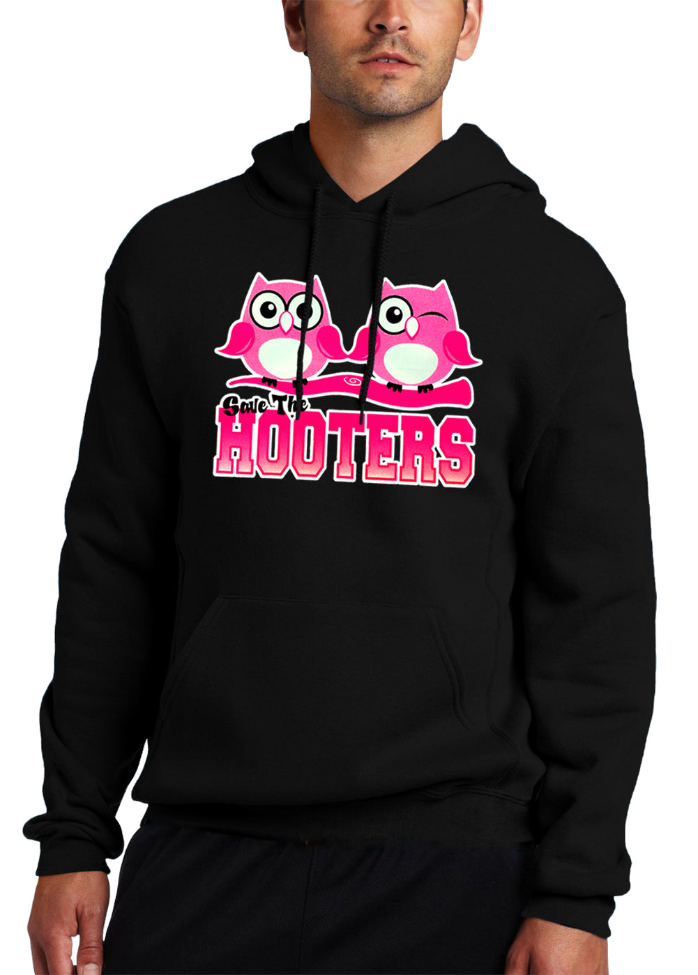 Save The Hooters Adult Hoodie
