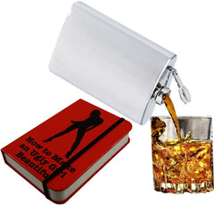 Secret Hidden Flask in a Sexy Book