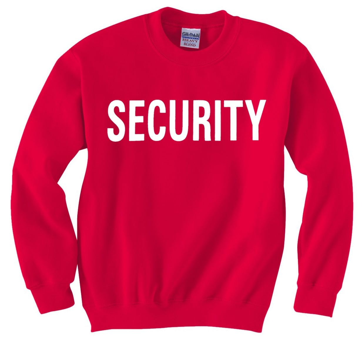 Security Crew Neck Sweatshirt