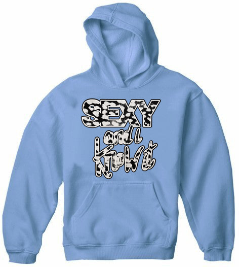 Sexy And I Know It Adult Hoodie