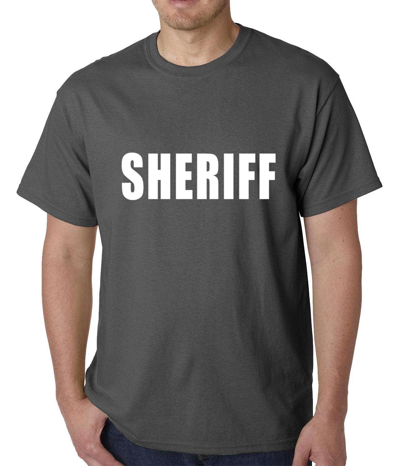 Sheriff Costum Mens T-shirt