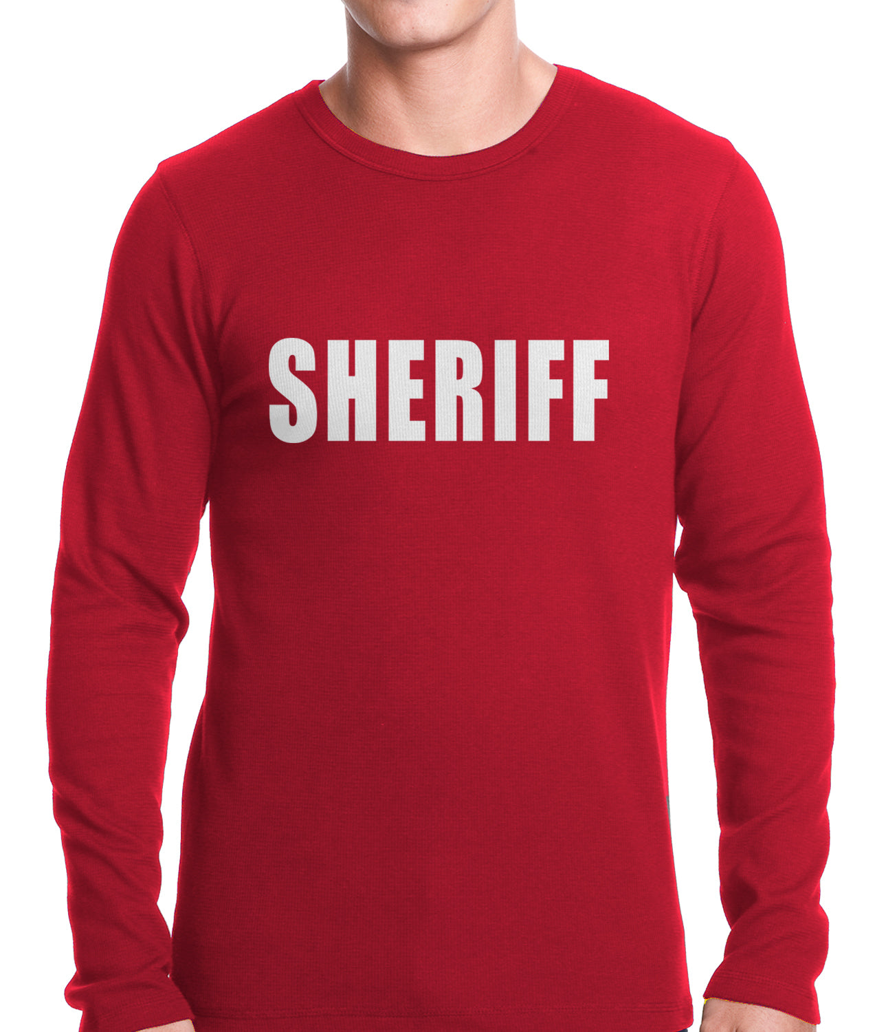 Sheriff Costum Thermal Shirt