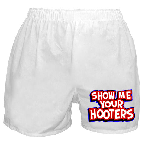 Show Me Your Hooters Boxer Shorts