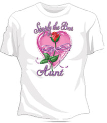 Simply The Best Aunt Girls T-Shirt