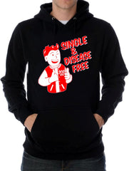 Single & Disease Free Hoodie