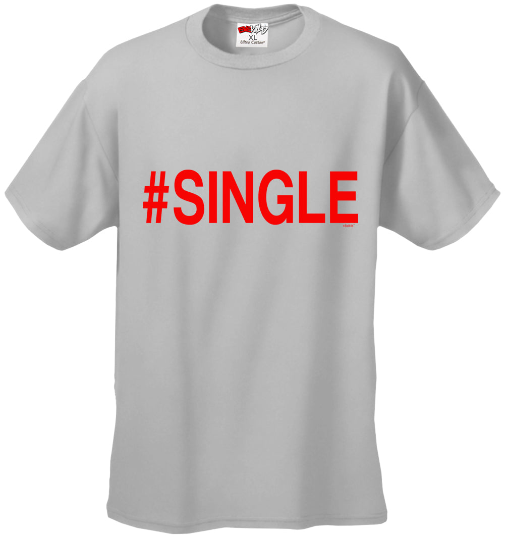 #Single,  Men's T-Shirt