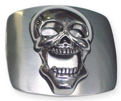 Skull Bottle Opener Belt Buckle With Free Belt