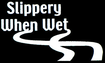 Slippery When Wet Thong