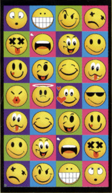 Emoji Smiley Faces Beach Towel