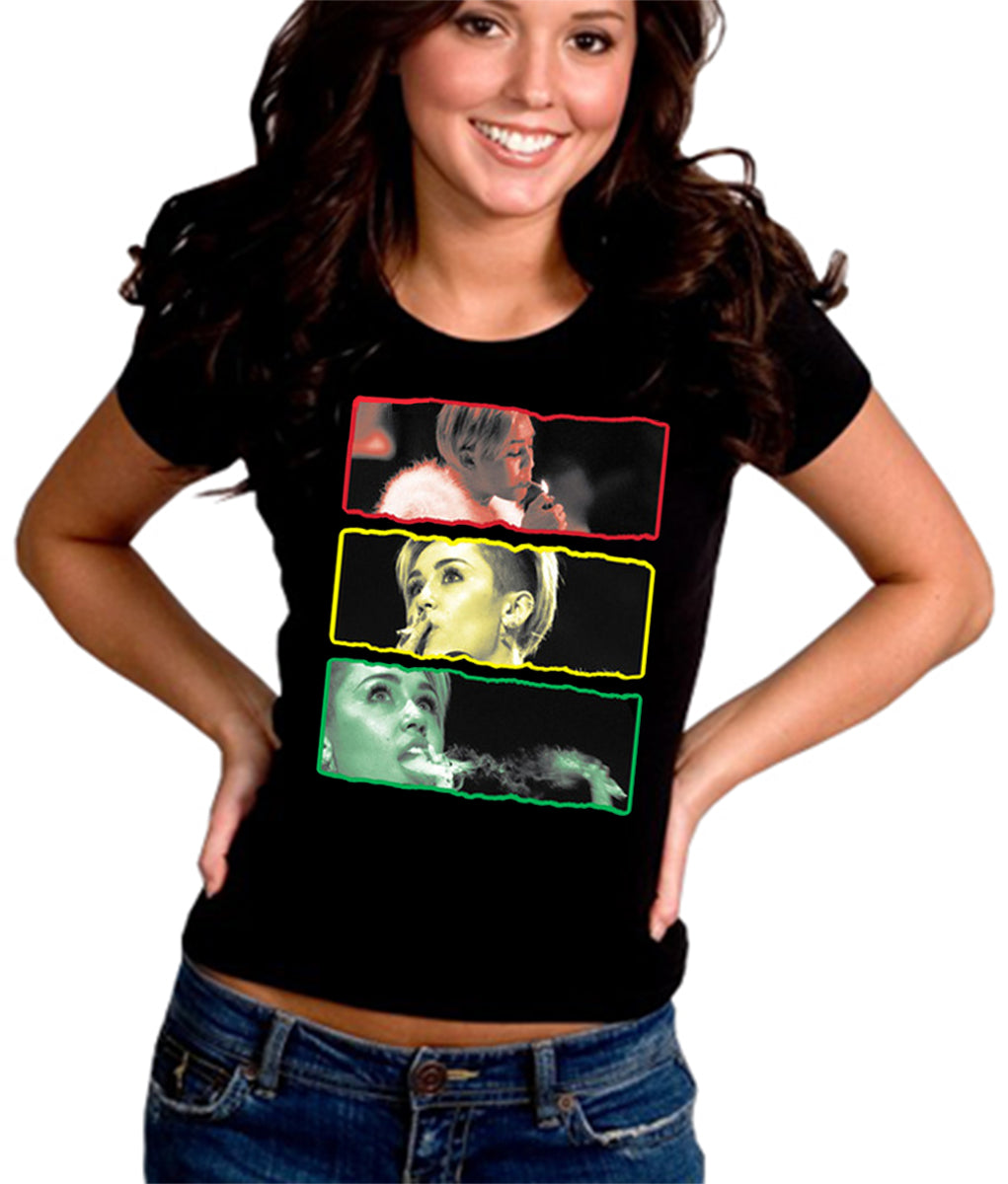 "Smokin Rasta ""Party Girl"" Girl's T-Shirt"