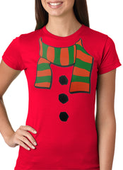 Snowman Costume Girls T-shirt