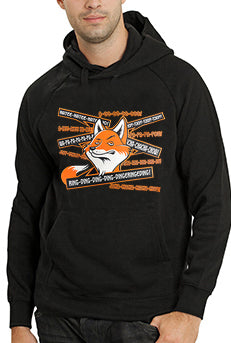 So Many Fox Sayings - What Does The Fox Say Adult Hoodie