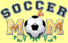 Soccer Mom Girls T-Shirt