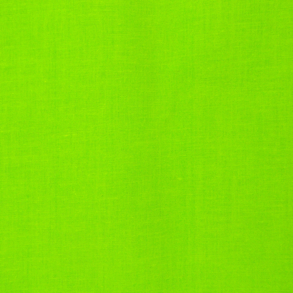 Solid Color Neon Green Blacklight Reactive Bandana