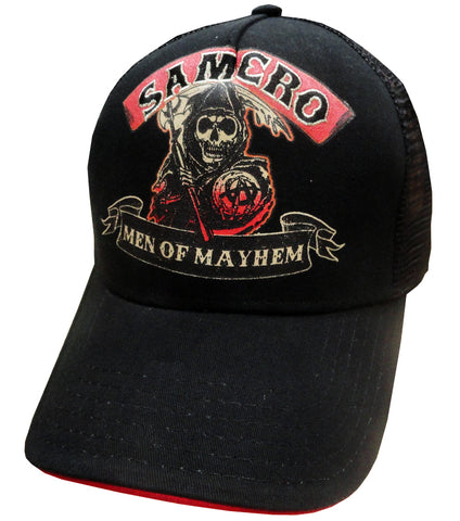"Sons Of Anarchy ""Men of Mayhem"" Mesh Trucker Hat"
