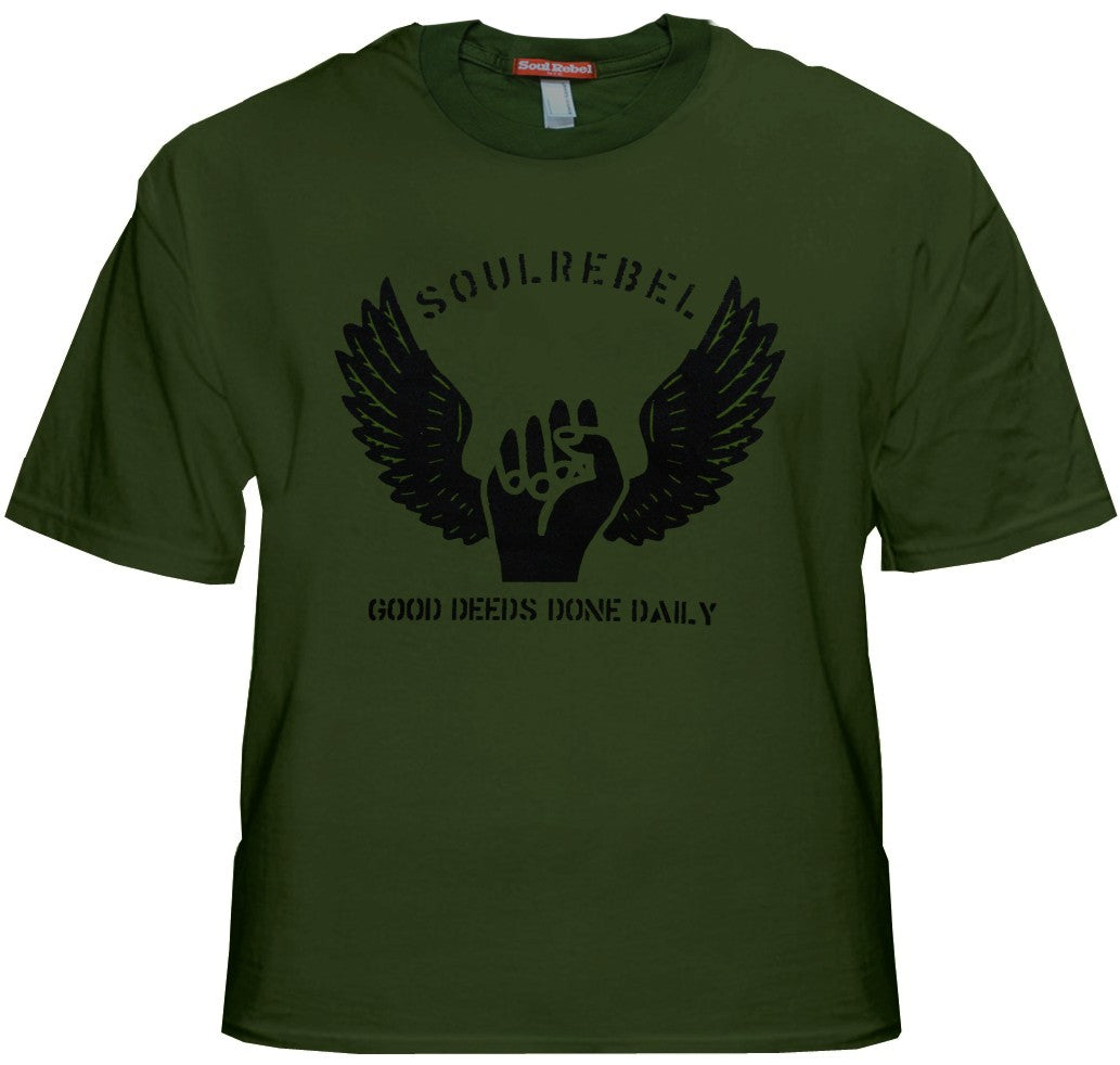 "Soul Rebel ""Good Deeds"" T-Shirt"