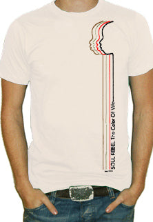Soul Rebel Lines Profile T-Shirt (Khaki)