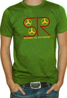 Soul Rebel Reel Machine T-Shirt (Olive)