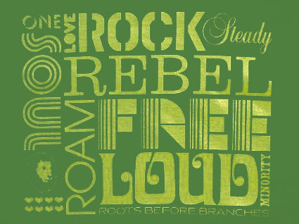 Soul Rebel Rock Steady T-Shirt (Green)