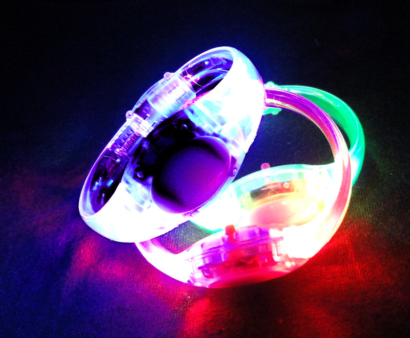 Sound Activated LED Light Up Bracelet