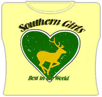 Southern Girls, Best In The World Girls T-shirts