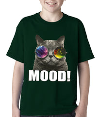 Spaced Mood Cat Kids T-shirt