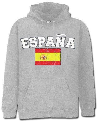 "Spain ""España"" Vintage Flag International Hoodie"