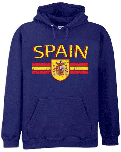 Spain Vintage Shield International Hoodie