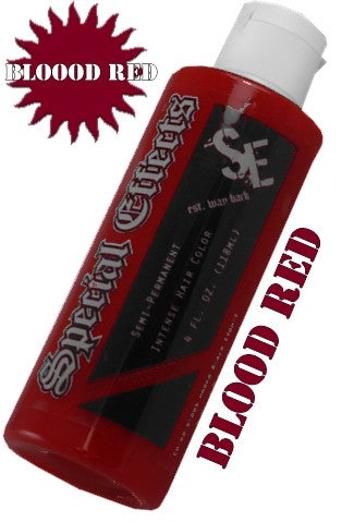 Special Effects Hair Dye Blood Red