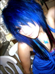 Special Effects Hair Dye - Blue Haired Freak