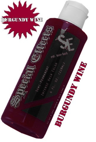 Special Effects Hair Dye - Burgundy Wine