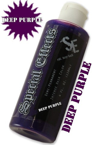 Special Effects Hair Dye -Deep Purple