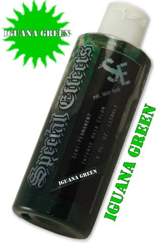 Special Effects Hair Dye - Iguana Green