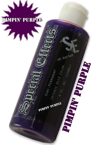 Special Effects Hair Dye - Pimpin' Purple