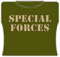 Special Forces Girls T-Shirt (Army)