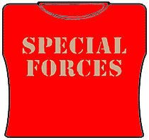 Special Forces Girls T-Shirt (Red)
