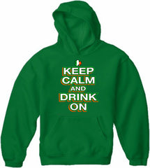 St. Patrick's Day Hoodies - Keep Calm and Drink On Adult Hoodie