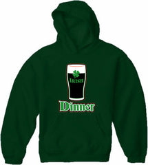 St. Patrick's Day Irish Dinner Adult Hoodie