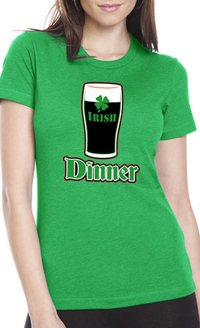 St. Patrick's Day Irish Dinner Girl's T-Shirt