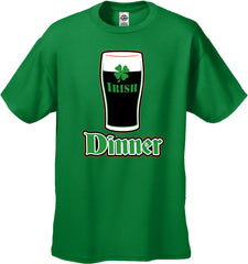 St. Patrick's Day Irish Dinner Men's T-Shirt