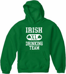 St. Patrick's Day Irish Drinking Team Adult Hoodie