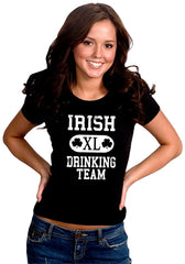 St. Patrick's Day Irish Drinking Team Girl's T-Shirt
