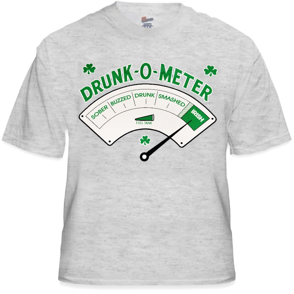 St.Patrick's Day - Irish Drunk -o- Meter T-Shirt