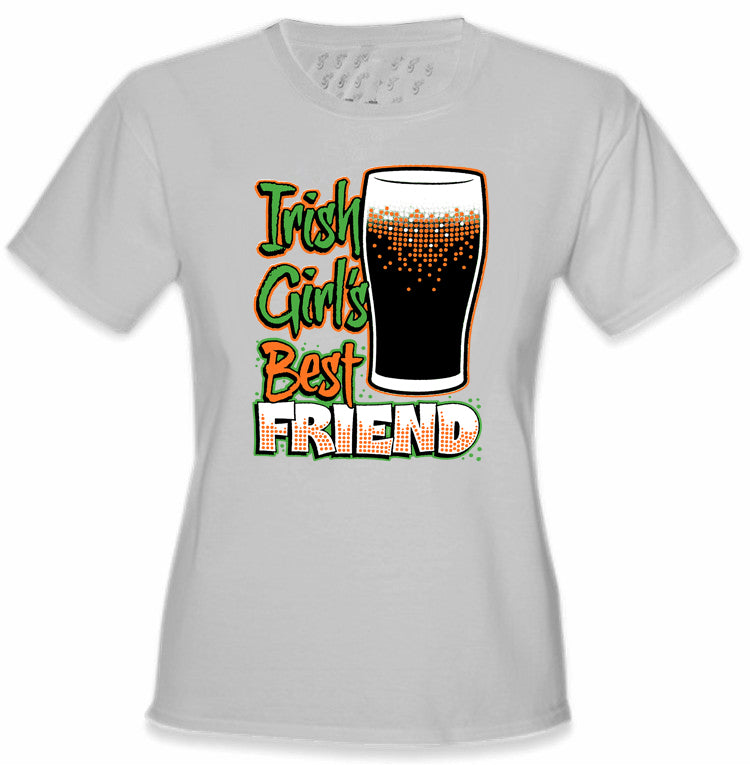 St. Patrick's Day Irish Girl's Best Friend Girl's T-Shirt