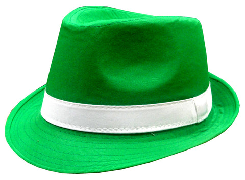 St. Patrick's Day Irish Kelly Green Fedora Hat